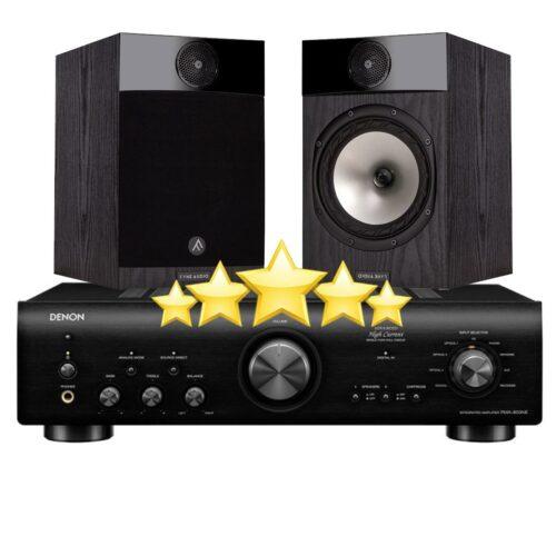 5 Tähden HiFi Paketti Fyne Audio + Denon-0