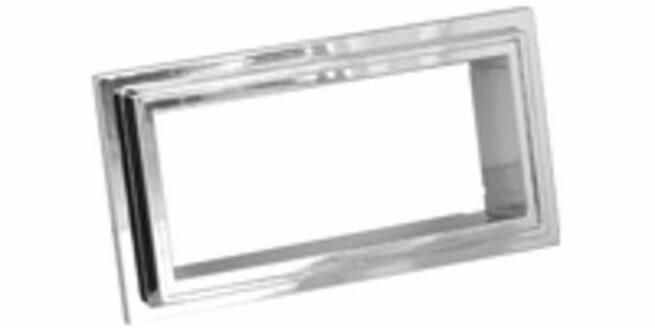 Retrosound sovitekehys radioaukolle: korkeus: 50-58mm - leveys: 100-112mm-0