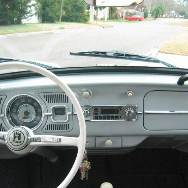 "Retrosound etupaneli ""VW kupla"" 2 eri väriä-21514"