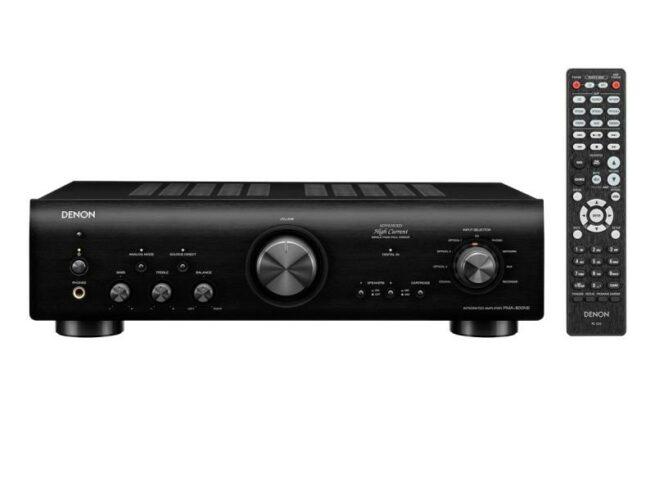 5 Tähden HiFi Lattiakaiutinpaketti Fyne Audio + Denon-21532