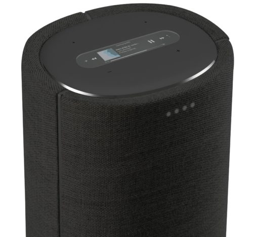 Harman Kardon Citation Tower puheohjattava smart kaiutin, Musta-0