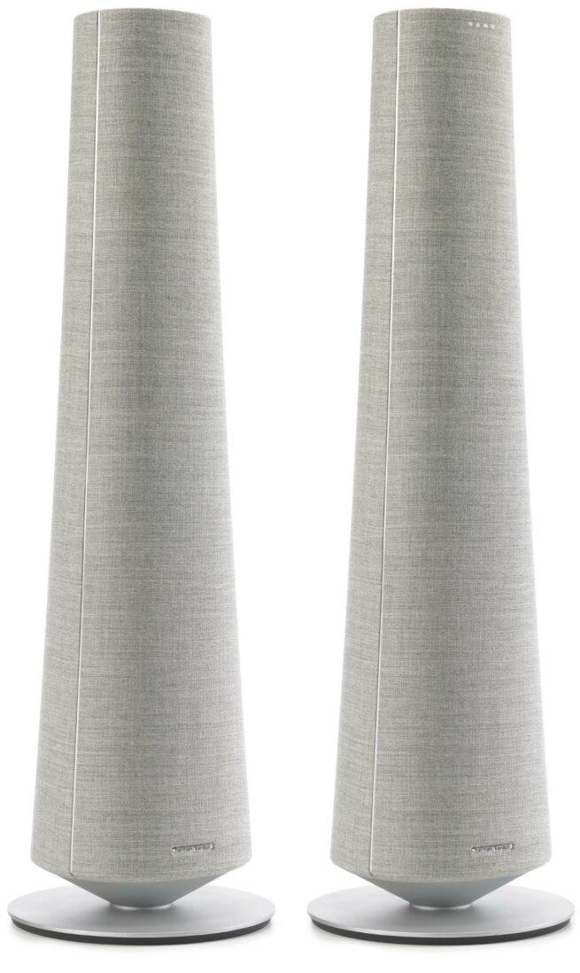 Harman Kardon Citation Tower puheohjattava smart kaiutin, Harmaa-21706