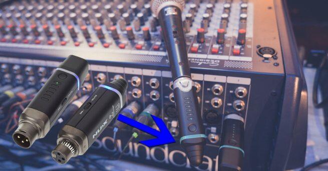 NUX B3 Mikrofonilähetin ja vastaanotin-0