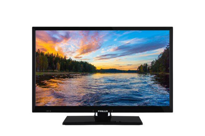 """Finlux 24"""" 12V SMART TV DVD SOITTIMELLA-21809"""