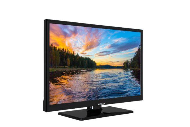 """Finlux 24"""" 12V SMART TV DVD SOITTIMELLA-21810"""