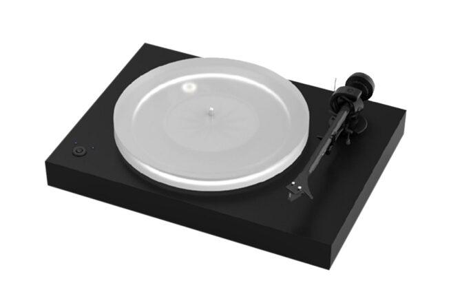 Pro-Ject X2 levysoitin Ortofon 2 M Silver äänirasialla-0