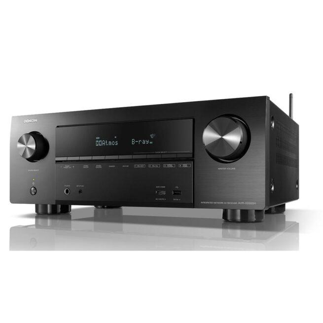 Denon AVR-X1600H 7.2 Kanavainen 4K Ultra HD AV Vahvistin HEOS-21958
