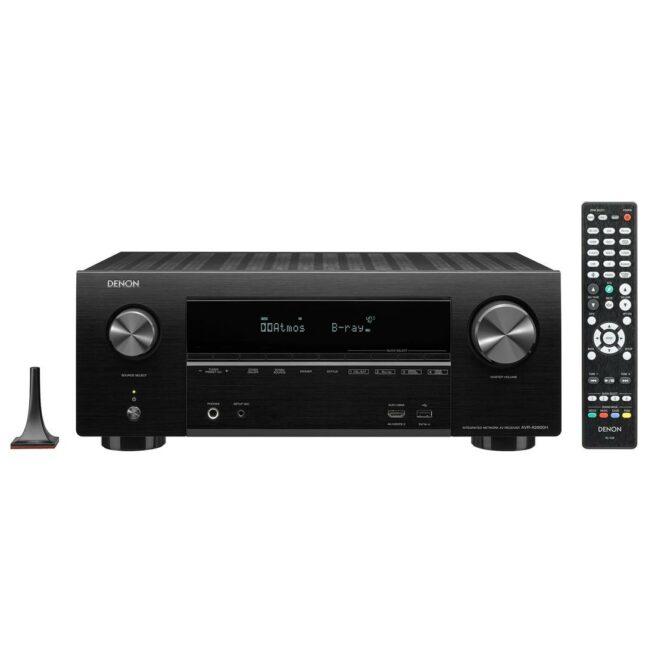 Denon AVR-X1600H 7.2 Kanavainen 4K Ultra HD AV Vahvistin HEOS-0