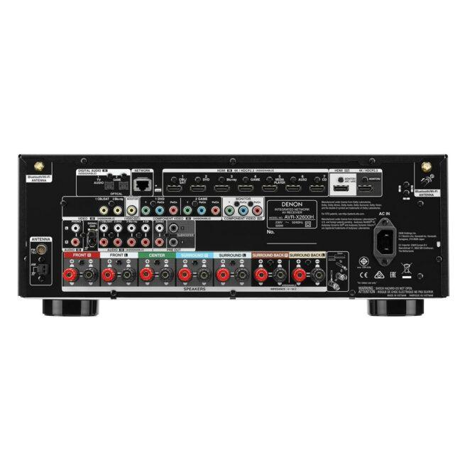 Denon AVR-X1600H 7.2 Kanavainen 4K Ultra HD AV Vahvistin HEOS-21959