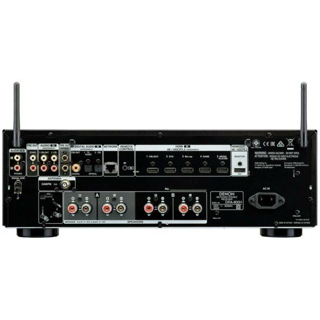 Denon DRA-800H 2.1 AV- vahvistin-21970