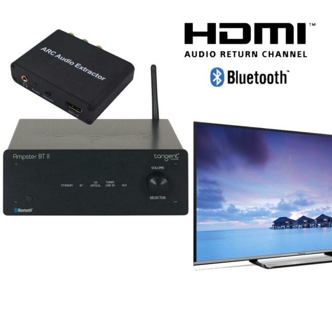 R-Audio TV / Vahvistin Paketti-0