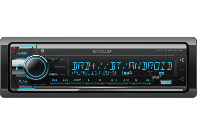 Kenwood KDC-X7200DAB CD-Vastaanotin Bluetooth-0