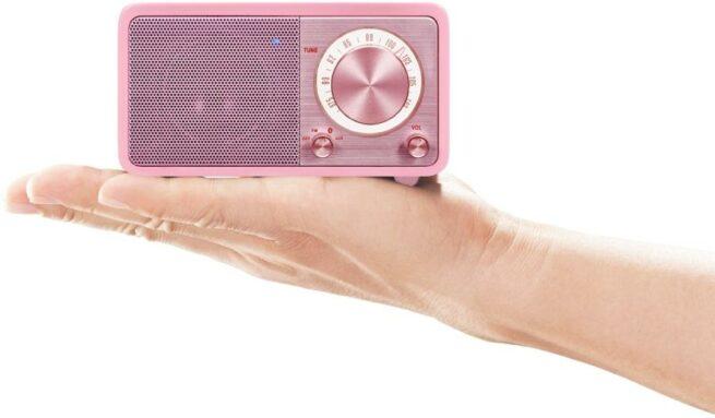 Sangean WR7 Akku Pienoisradio Bluetooth Pinkki-22203