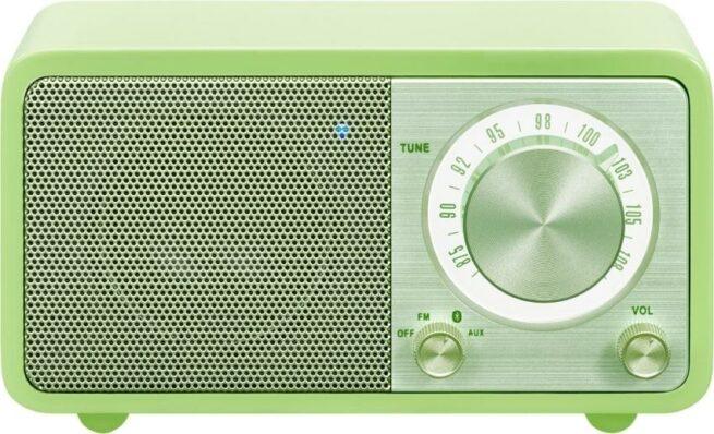Sangean WR7 Akku Pienoisradio Bluetooth Vihreä-22196