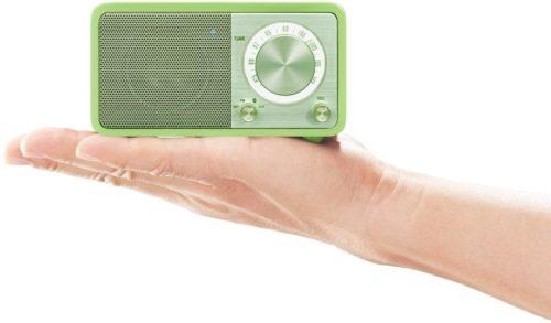 Sangean WR7 Akku Pienoisradio Bluetooth Vihreä-0