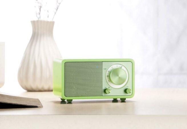 Sangean WR7 Akku Pienoisradio Bluetooth Vihreä-22195