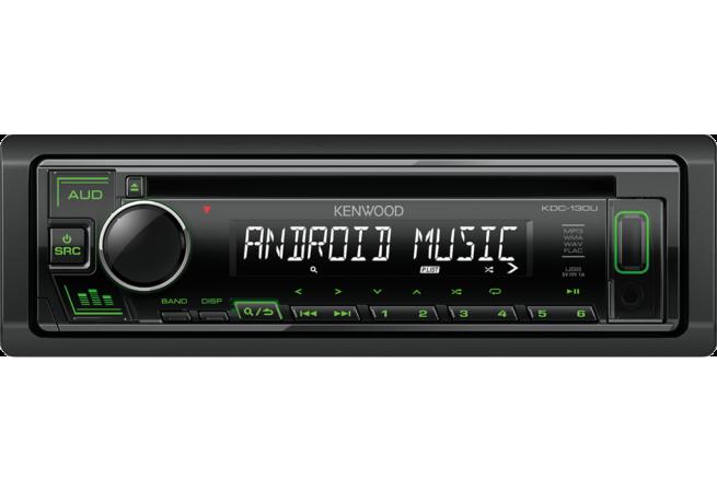 Kenwood KDC-130UB/UR/UG CD Autoradio-22236