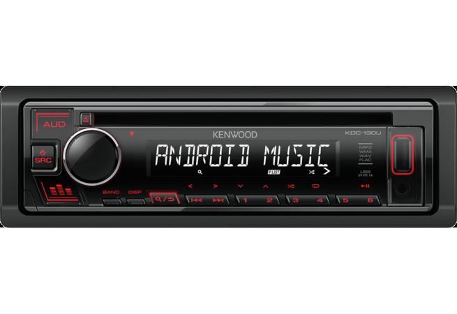 Kenwood KDC-130UB/UR/UG CD Autoradio-22237