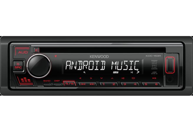 Kenwood KDC-153R CD Ohjelmalähde-0