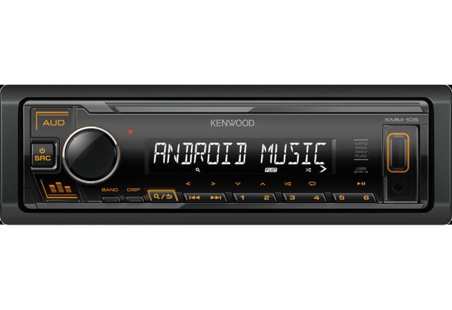 Kenwood KMM-105GY/AY/RY USB Mediasoitin-0