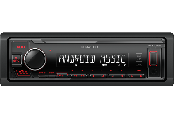 Kenwood KMM-105GY/AY/RY USB Mediasoitin-22252