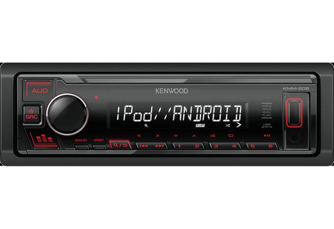 Kenwood KMM-205 USB Mediaradio-0