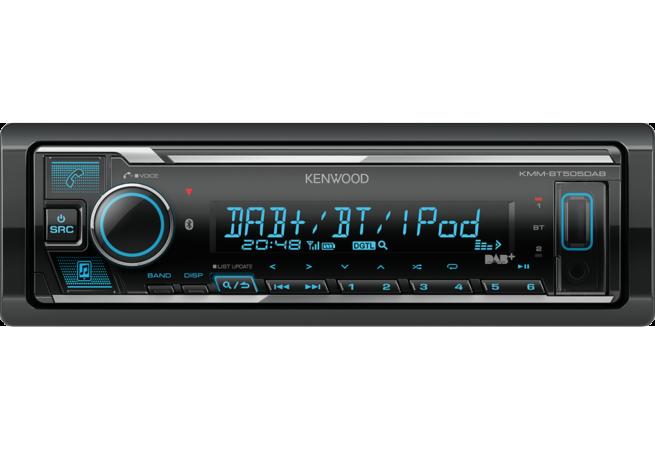 Kenwood KMM-BT505DAB USB Bluetooth DSP Mediasoitin-0
