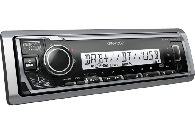 Kenwood KMR-M506DAB Marine USB/Bluetooth Soitin-0