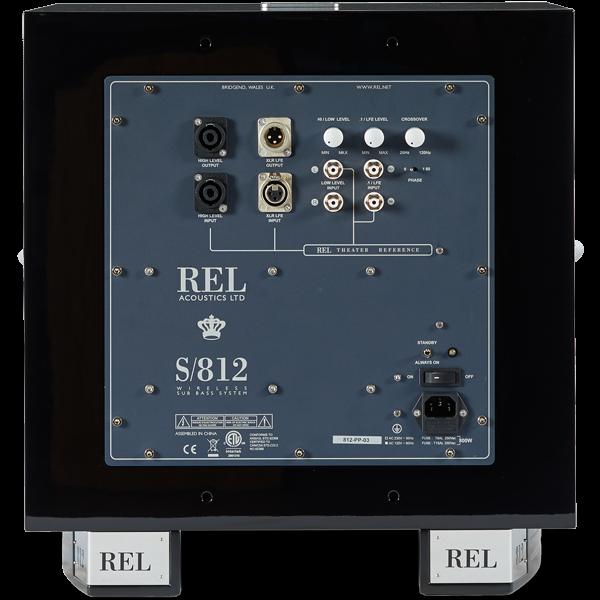 "REL S/812 12"" Aktiivinen subwoofer-22286"