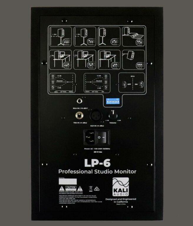 "Kali Audio LP-6 6.5"" Studiomonitori, musta, kpl-22317"