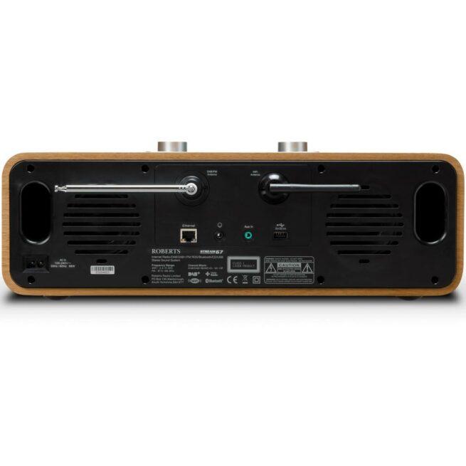 Roberts Radio Stream 67 Smart Musiikkikeskus, Tumma Pähkinä-22332