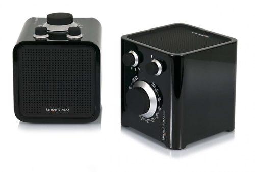 Tangent Alio Junior Pöytäradio, Musta-0