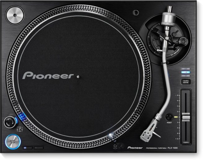 Pioneer PLX-1000 DJ Vinyylisoitin, Suoraveto-0