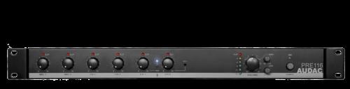 Audac PRE116 6-Kan Mikseri Etuvahvistin Bluetooth-0