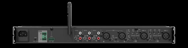 Audac PRE116 6-Kan Mikseri Etuvahvistin Bluetooth-22644