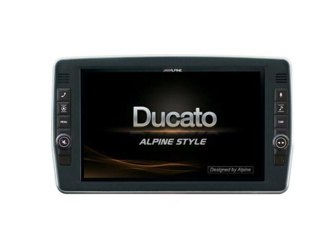 """Alpine X903D-DU2 9"""" Ducato Navisoitin Kääntyvä näyttö-22936"""