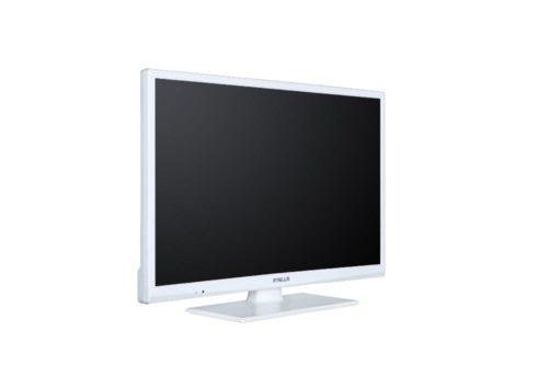 """FINLUX 24-FWMA-4210 24"""" VALKOINEN LED-TELEVISIO 12V.-0"""