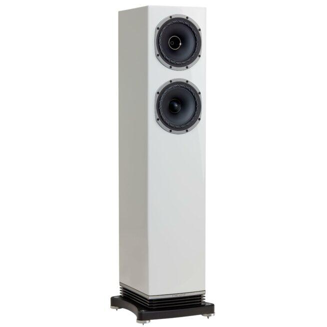 Fyne Audio F501 2.5-Tie 2x150mm Lattiakaiutin, Kiilto-Valkoinen-0