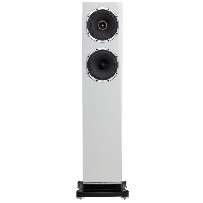 Fyne Audio F501 2.5-Tie 2x150mm Lattiakaiutin, Kiilto-Valkoinen-23825