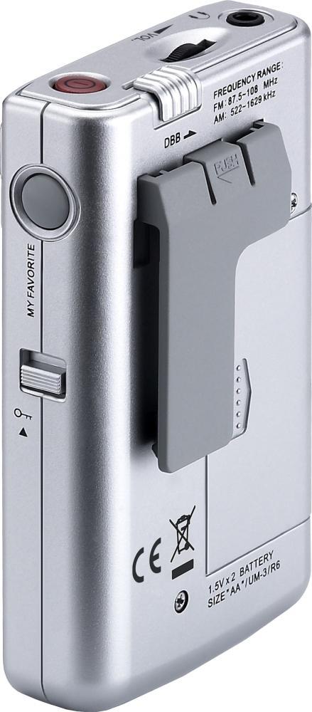 Sangean DT-250 Digitaalinen taskuradio-23719