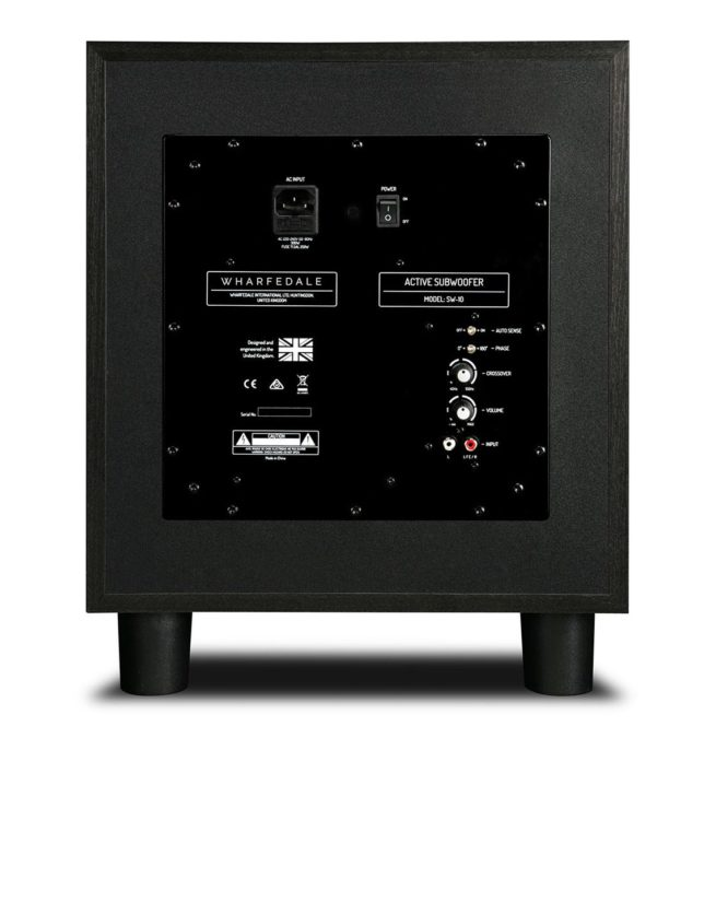 """Wharfedale SW-10 Aktiivinen subwoofer 10""""-23690"""