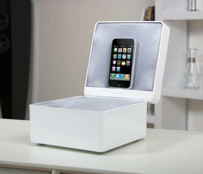 Tangent Pearl Box Bluetooth Korurasiakaiutin, Valkoinen-23776
