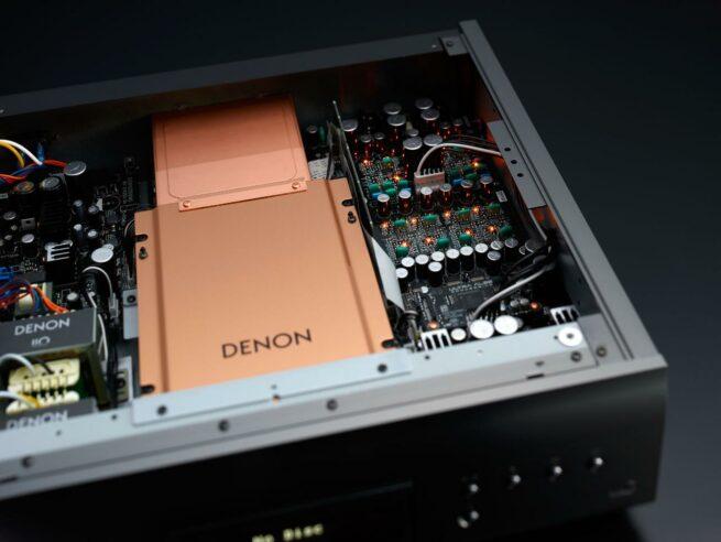 Denon DCD-A110 CD-soitin, hopeagrafiitti-23873