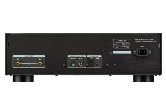 Denon DCD-A110 CD-soitin, hopeagrafiitti-23874
