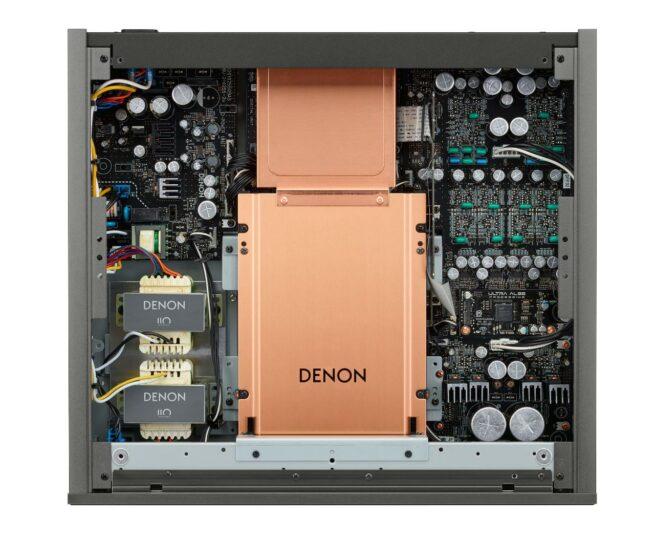 Denon DCD-A110 CD-soitin, hopeagrafiitti-23875
