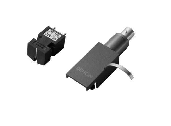 Denon DL-A110 MC äänirasia, hopeagrafiitti-0