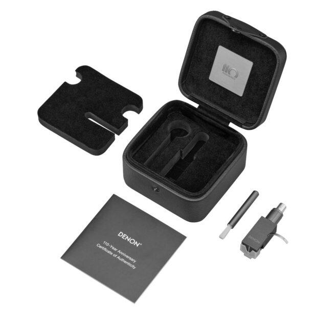 Denon DL-A110 MC äänirasia, hopeagrafiitti-23880