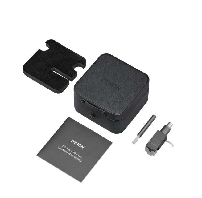 Denon DL-A110 MC äänirasia, hopeagrafiitti-23884