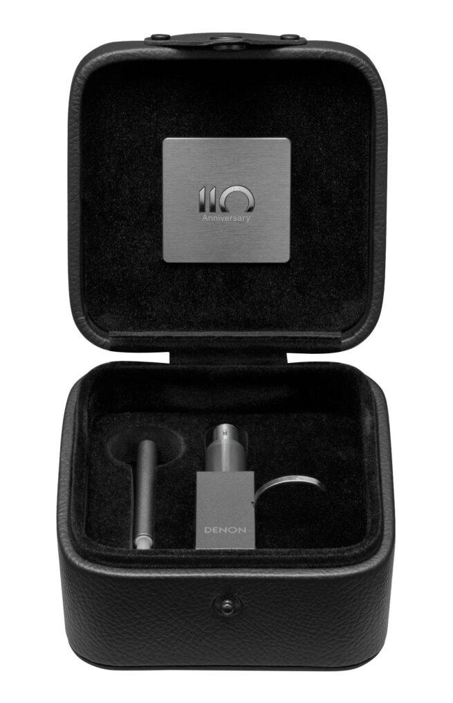 Denon DL-A110 MC äänirasia, hopeagrafiitti-23881