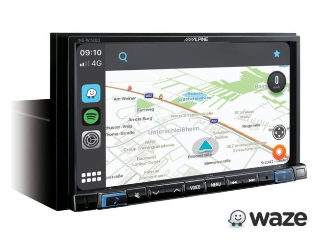 "Alpine INE-W720D 7"" Navi Premium soitin-23832"